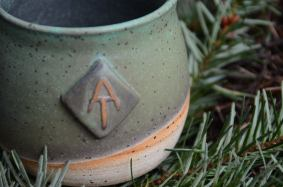 mug inspired by the Appalachian Trail. photo courtesy Clay Mason Studio