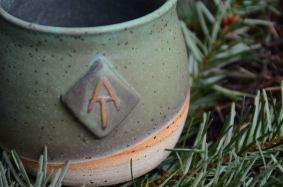 mug inspired by the Appalachian Trail. photo courtesy Clay Mason Studio